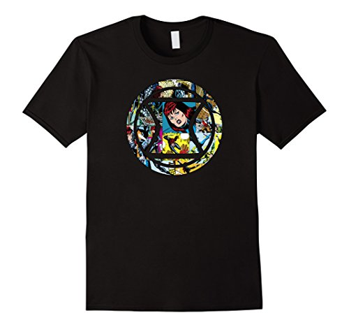 Marvel Black Widow Retro Comic Icon Graphic T-Shirt