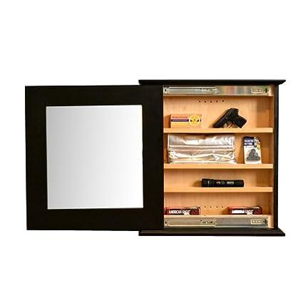 Amazon Com Stealth Furniture Hidden Compartment Mirror Craftsman
