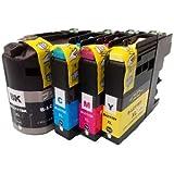 LC117/115-4PK 4色セット ブラザー 互換インク brother LC117 LC115 MFC-J4910CDW J4810DN J4510N DCP-J4215N-B/W J4210N 対応 1年保証付 プリンター保証付