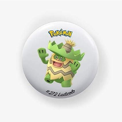 Ludicolo #272 : Pokemon Go, Pinback Button Badge 1.50 Inch ...