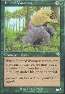 - Magic: the Gathering - Hunted Wumpus - Mercadian Masques - Foil