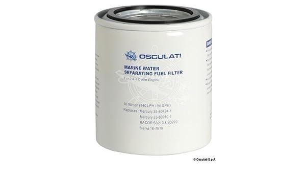 Osculati 17.660.45 Cartucho de recambio para filtro de combustible