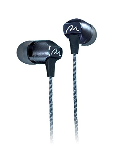 Rosewill Hi-Res Dual Driver Wired Earphones, In Ear Headphones Sports/Running/Gym/Exercise/Sweatproof Earbuds with Mic, For iPhone, iPad, Android Smartphones, Mp3/mp4 Player, Tablet (EX-700)