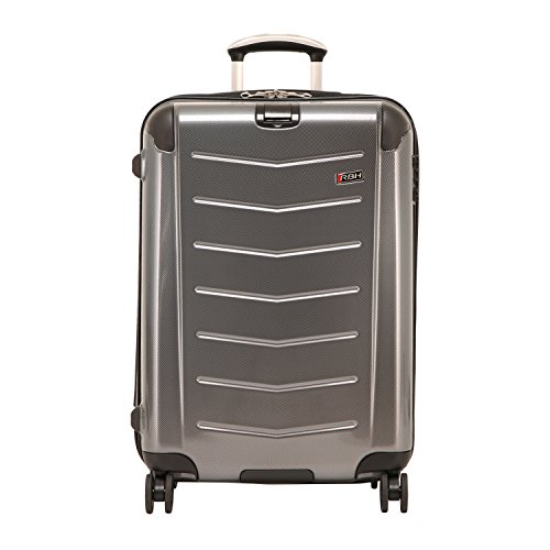 Ricardo Beverly Hills Luggage Rodeo Drive 25-Inch 4-Wheel Expandable Upright, Anthracite, One Size
