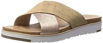 UGG Australia Women's Kari Slide Sandal Cork Rose 7 M US