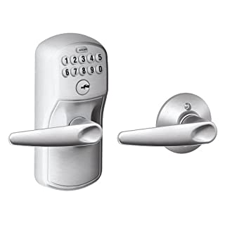 Schlage FE575 PLY Plymouth Keypad Entry with Auto-Lock (B00486U3UE) | Amazon Products