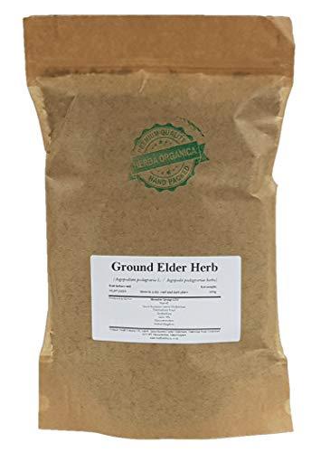 Ground Elder Herb - Aegopodium Podagraria L # Herba Organica # Herb Gerard, Wild Masterwort, Gout Wort, Bishop's Weed (100g)