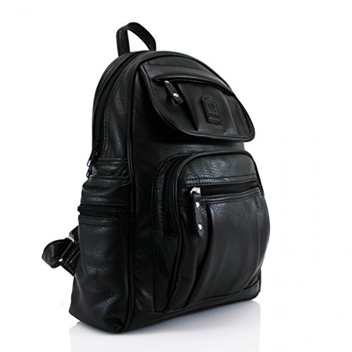 Bags BLACK W26cm School x D15cm Designer x H38cm LeahWard Women's Nice Backpack Bag Rucksack Girl's Ladies Quality Handbags 186 wORRpqXxH