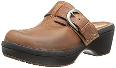 Amazon.com | crocs Women's Cobbler Buckle Clog | Mules & Clogs