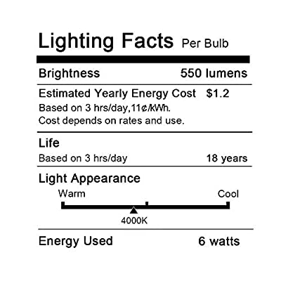 Dimmable Edison Led Tubular Bulb T10, 4W Vintage Led Filament Light Bulb, 40W Incandescent Equivalent, 2700K Soft White, E26 Medium Base,Clear Glass Bulbs,for Display Cabinet Showcase Piano, 6 Pack