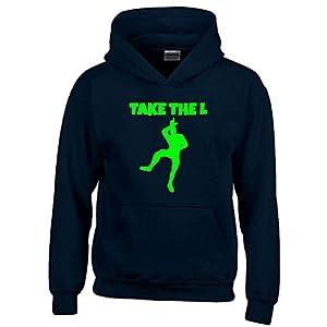 TAKE The L Hoodie Sweatshirt mit Kapuze Gr. 116 128 140 152 164 cm