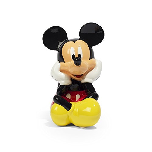 Disney Mickey Mouse Ceramic Coin Bank (Piggy Banks Disney)