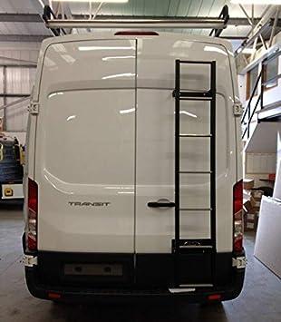 Van Guard Escalera de Puerta Trasera de Acero galvanizado con Recubrimiento en Polvo para Renault Master (98-10) [H2]: Amazon.es: Coche y moto