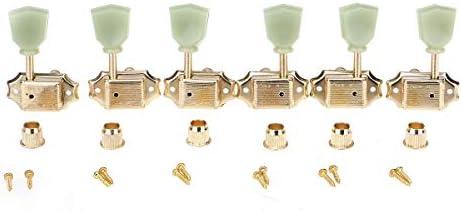 3+3 Guitar Tuner Tuning Pegs Key Machine Head Vintage Les Paul Gold