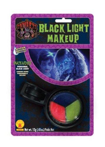 Black (Halloween Skeleton Makeup)