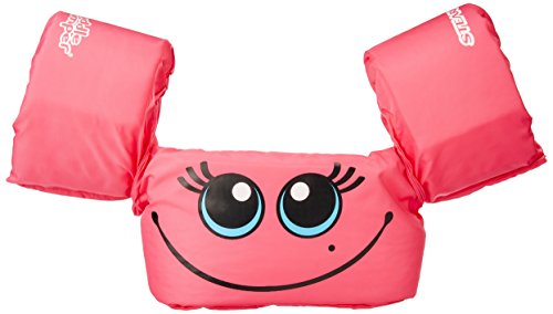 Stearns Puddle Jumper Basic Child Life Jacket, Pink Smile (Kids Baby Jacket)