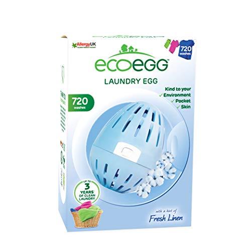 Ecoegg Laundry Egg, 720 Loads, Fresh Linen (Eco Egg Washing Machine)