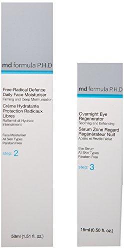 Skin Pharmacy Free Radical Defence Daily Moisturiser and Overnight Eye Regenerator, 250 Gram