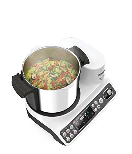 Kenwood CCL401WH kCook Multi Smart Robot da Cucina Food Processor con Funzione Cottura, 10 Accessori Inclusi, Acciaio… 3