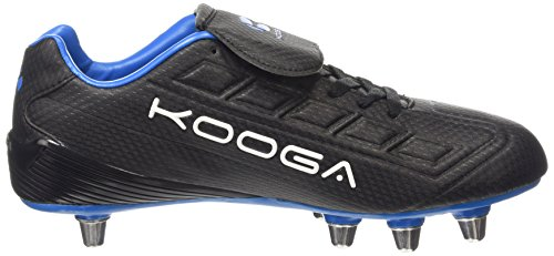 Kooga Herren Black Schwarz Blue Rugbyschuhe Blitz pfxr8p