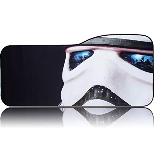 BRILA Extended Mouse Pad Large Keyboard Desk Pad for Gaming, Office Computer Laptop - Big Custom Design Mouse Mat with Stitching & Non-Slip Rubber Back - 29