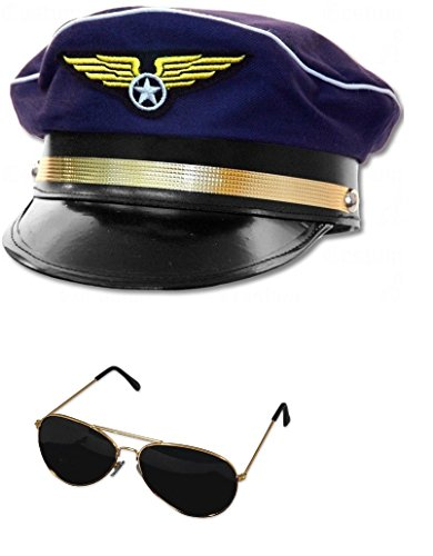 Nicky (Airline Pilot Hat)