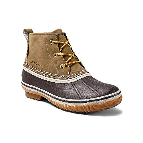 Eddie Bauer Women's Hunt Pac Mid Boot – Leather, Wheat Regular 9M