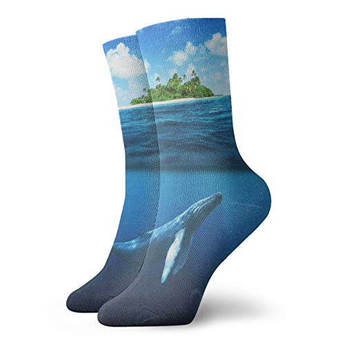 Crew Socks Whale Shark Near Island Special Mens Casual for sale  Delivered anywhere in USA