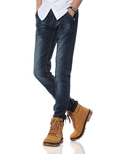 Demon&Hunter 808B Series Men's Skinny Fit Slim Jeans DH8083(33) (559 Series)