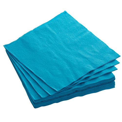 (Exquisite 300 Pack of Luncheon Paper Napkins The 2 Ply Party Napkins are Highly Absorbent and Available in a Wide Range of Vibrant Colors - Turquoise Napkins)