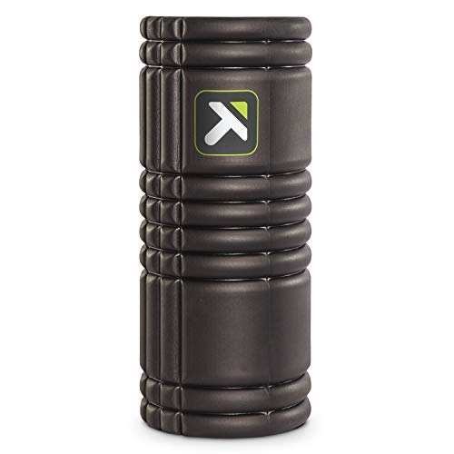 Trigger Point Performance TPT-GRDBW TriggerPoint GRID Foam Roller with Free Online Instructional Videos, Original (13-inch), Black ()