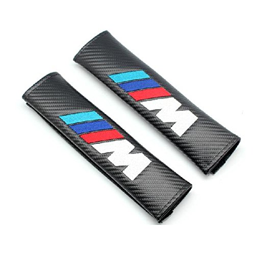 benzee-2pcs-m-carbon-fiber-car-styling-accessories-seat-belt-shoulders-pad-truck-cover-m3-m5-m6-bmw-