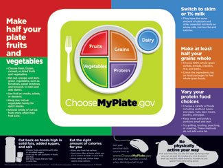MyPlate Poster Ea