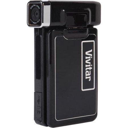 """Vivitar DVR-865HD 2.4"""" Digital Camera & Video Camera w/Full-"""