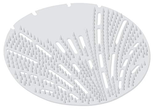 - Big D 620 The Mini Pearl 3D Urinal Screen, Melon Mist Fragrance, White (Pack of 10) - Lasts up to 45 days - Ideal for restrooms in cruise ships, tour buses, childcare facilities, schools, offices