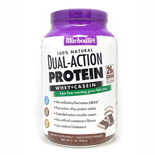 Dual Action Protein Chocolate – 2.1 lbs – Powder