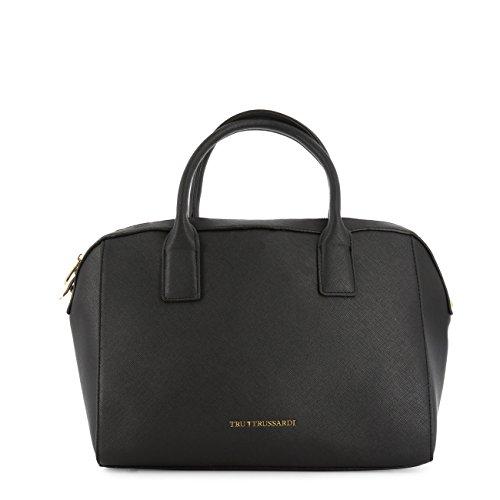 Handbag Trussardi Genuine Women Designer Black z0nwvCSxw