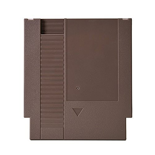 Empty 3 Screw Cartridge Case Shell Grey for NES Nintendo Games by Atomic Market