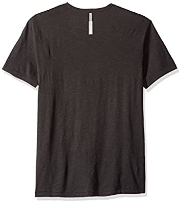 Calvin Klein Jeans Men's Short Sleeve Net Design Ck Logo Crew Neck T-Shirt