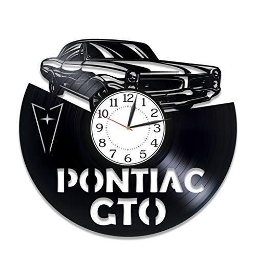 Kovides Pontiac GTO Birthday Gift Idea Car Vinyl Clock 12 Inch
