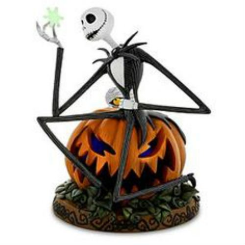 Disney Parks Medium Figure Statue Jack Skellington Halloween Pumpkin Figurine