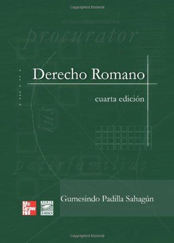 Derecho Romano (Spanish Edition) [Gumesindo Padilla] (Tapa Blanda)