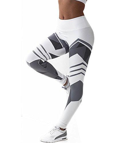 Pink Peach Women's Stretch High Waist Gym Capri Pants Sexy Buttock Yoga Leggings