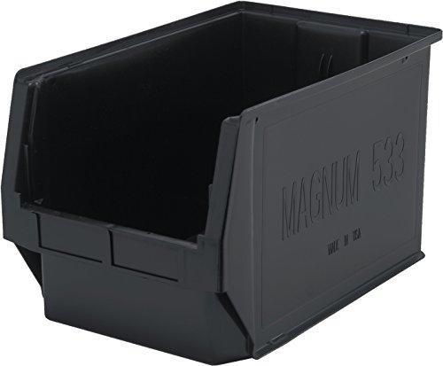 Quantum Storage Systems QMS533BK Heavy Duty Magnum Bin, 19-3/4