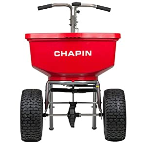 Chapin International 8400C Chapin Professional SureSpread Spreader, 100 Lb. Capacity-8400C, Red
