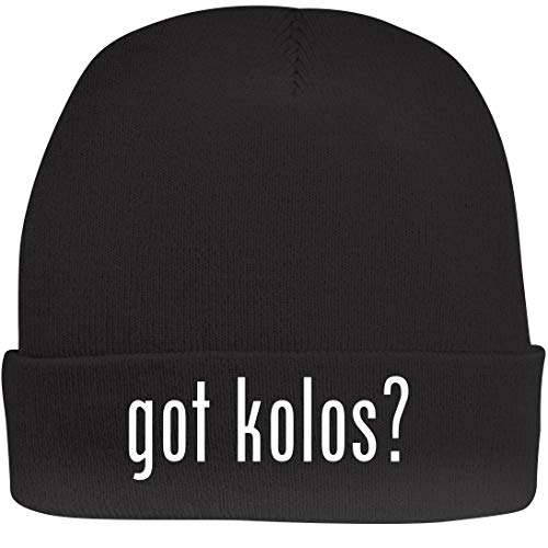 Shirt Me Up got Kolos? - A Nice Beanie Cap, Black, OSFA ()