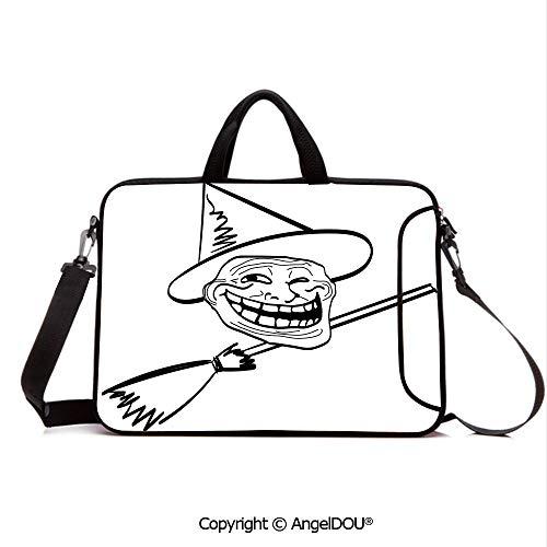 AngelDOU Notebook Bag for School Laptop Sleeve Messenger