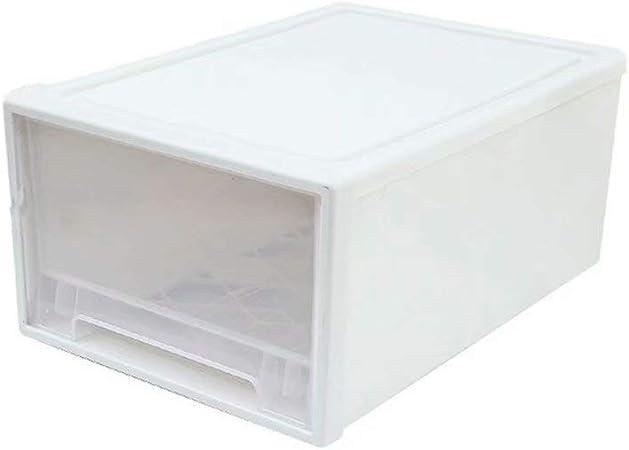 Supmico Boite De Rangement Empilable Coffre En Plastique Boite De Rangement En Plastique Pour Tiroir Transparent Amazon Fr Cuisine Maison