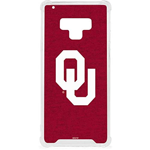 Skinit Oklahoma Sooners Red Galaxy Note 9 Clear Case - Skinit Clear Case - Transparent Galaxy Note 9 Cover