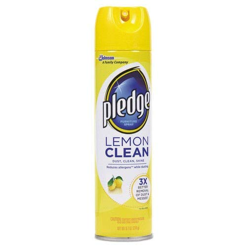 Pledge Furniture Polish Lemon Scent (Pack of 36)